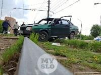 Серьезное ДТП на Зеленстрое: водитель «девятки» от удара вылетел из машины, Фото: 1