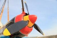 Установка копии Ла-5ФН на несущую опору мемориала «Защитникам неба Отечества» , Фото: 4