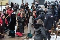 Бунт в цыганском поселении в Плеханово, Фото: 45