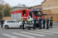 В Туле пожарная машина столкнулась с BMW, Фото: 8