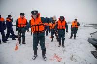 Тульское Управление МЧС принимает участие в тренировке  по готовности к паводку, Фото: 13
