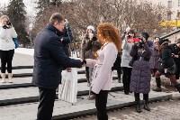 Вручение орденов школьным музеям и вручение наград ветеранам в Иншинке. 24.02.2015, Фото: 23