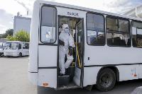 Тульские спасатели продезинфицировали автовокзал «Восточный», Фото: 21