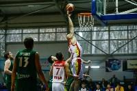 Тульские баскетболисты «Арсенала» обыграли черкесский «Эльбрус», Фото: 31