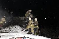 В пос. Менделеевский сгорел частный дом., Фото: 21