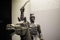 Монтаж экспозиции нового музея на Куликовом поле. Август 2016, Фото: 62