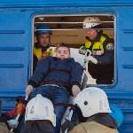 Учения МЧС на железной дороге. 18.02.2015, Фото: 1