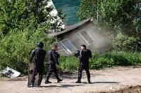 Плеханово, итоги дня: В таборе принудительно снесли первые 10 домов, Фото: 13