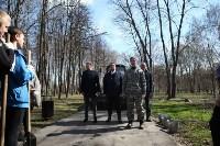 Посадка деревьев в Комсомольском парке, Фото: 12