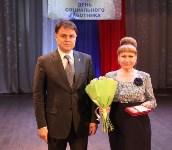 Владимир Груздев поздравил тульских соцработников с профессиональным праздником, Фото: 4