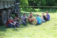 Тульский ОМОН провел боевую подготовку школьников, Фото: 10