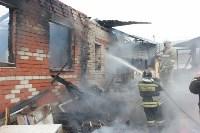 Пожар в цыганском поселении в Плеханово, Фото: 12