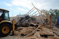 В Плеханово начали сносить дома в цыганском таборе, Фото: 45