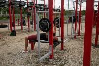 В Туле на набережной Упы открылась уникальная спортплощадка для занятий фитнесом и бодибилдингом, Фото: 2