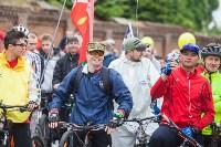 В Туле прошел большой велопарад, Фото: 175