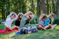 В Центральном парке прошла тренировка по пилатесу, Фото: 5