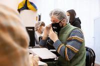 В Киреевске поликлинике помогают волонтеры, Фото: 41