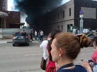 Загорелся недостроенный ТЦ на Красноармейском проспекте, Фото: 23