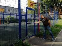 Закрыли спортплощадку, Фото: 6