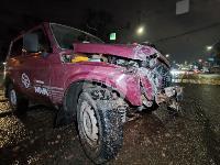 ДТП с автомобилем реанимации в центре Тулы, Фото: 4