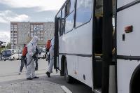 Тульские спасатели продезинфицировали автовокзал «Восточный», Фото: 19