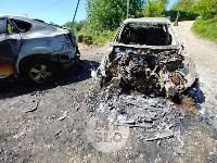Цыганский конфликт в Туле: ночью подожжены четыре автомобиля, Фото: 12