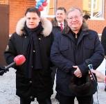 Владимир Груздев и руководители Фонда содействия реформированию ЖКХ в Кимовске , Фото: 20