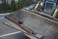 На въезде в Тулу трактор протаранил внедорожник, Фото: 8