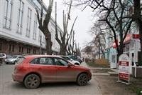 Парковка в районе ул. Тургеневской (недалеко от ТЦ «Гостиный двор»), Фото: 5
