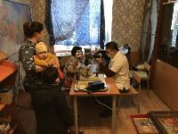 Врачи тульских клиник посетили Хитровщинский дом милосердия, Фото: 8