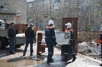 У дома, поврежденного взрывом в Ясногорске, демонтировали опасный угол стены, Фото: 13