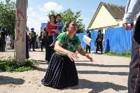 Плеханово, итоги дня: В таборе принудительно снесли первые 10 домов, Фото: 18