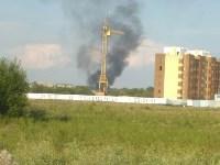 В Туле загорелось «кладбище» автомобилей, Фото: 7