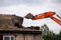 В Плеханово убирают незаконные строения, Фото: 11