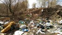 В Туле на берегу Тулицы обнаружен незаконный мусорный полигон, Фото: 6