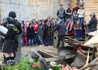 В Плеханово продолжается снос незаконных цыганских построек, Фото: 60