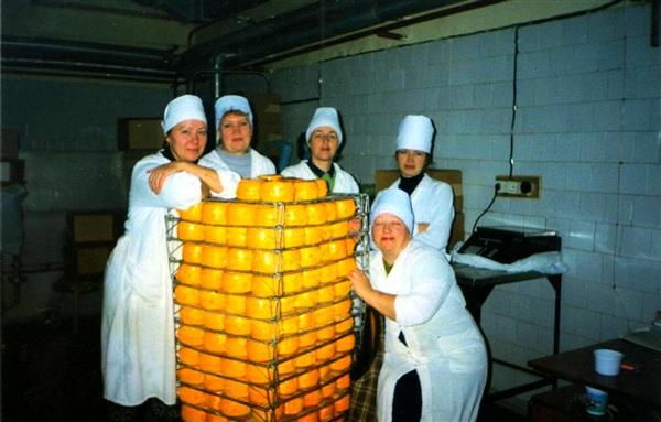 """Когда-то """"Тульский молочный комбинат"""" выпускал сыр."""
