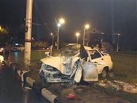 На ул. Короленко ВАЗ-21010 врезался в столб, Фото: 4