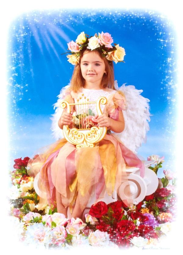 Алина Барская, 6 лет. Увлекается танцами и рисованием.
