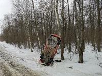 Под Тулой Opel «залез» на дерево, Фото: 3