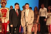 Владимир Груздев поздравил тульских выпускников-медалистов, Фото: 77