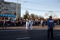 Второй этап эстафеты олимпийского огня: Зареченский район, Фото: 63