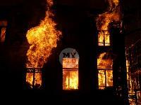 Крупный ночной пожар в Туле, Фото: 4