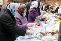 Туляки освящают пасхи и куличи, Фото: 55