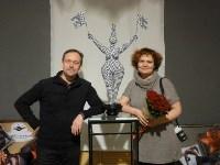 В Туле открылась выставка текстильной скульптуры, Фото: 7