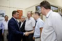 Алексей Дюмин  посетил АО «АК «Туламашзавод», Фото: 23