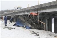 ДТП с участием «Газели» мосту через реку Воронку. 13 февраля 2014, Фото: 7