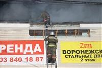 На ул. Оборонной в Туле сгорел магазин., Фото: 30