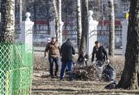 Субботник в Комсомольском парке с Владимиром Груздевым, 11.04.2014, Фото: 48