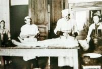 Секционный зал патологоанатомического отделения, 1940-е годы., Фото: 23